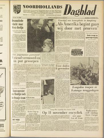 Noordhollands Dagblad : dagblad voor Alkmaar en omgeving 1961-11-06