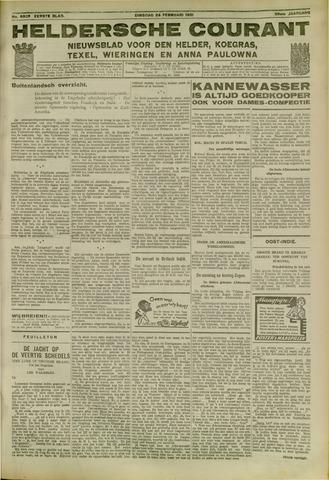 Heldersche Courant 1931-02-24