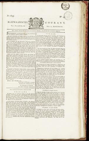 Alkmaarsche Courant 1833-11-11