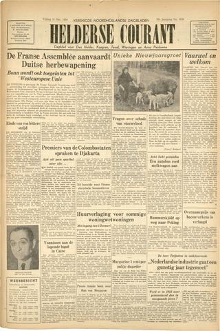Heldersche Courant 1954-12-31