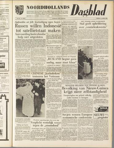 Noordhollands Dagblad : dagblad voor Alkmaar en omgeving 1958-04-11