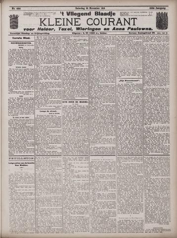 Vliegend blaadje : nieuws- en advertentiebode voor Den Helder 1913-11-22