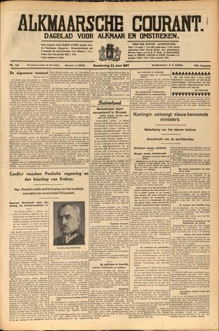 Alkmaarsche Courant 1937-06-24