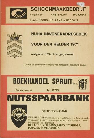 Adresboek van Den Helder 1971-01-01