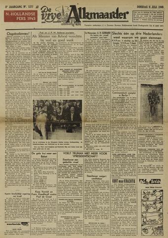 De Vrije Alkmaarder 1948-07-06