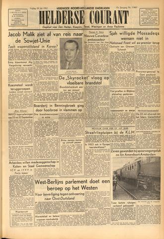 Heldersche Courant 1952-07-18