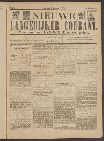Nieuwe Langedijker Courant 1899-01-08