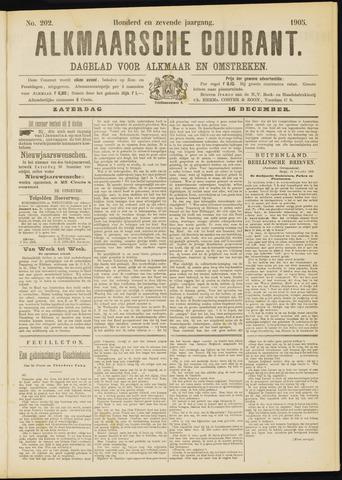 Alkmaarsche Courant 1905-12-16