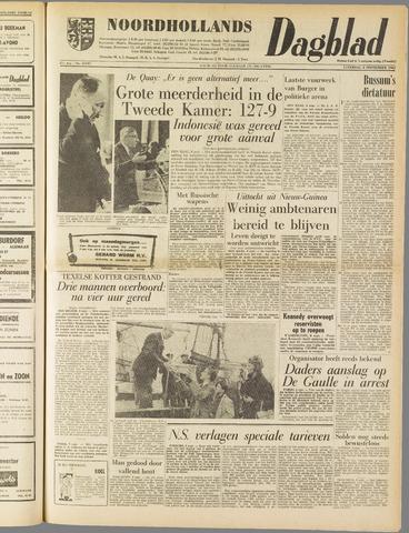 Noordhollands Dagblad : dagblad voor Alkmaar en omgeving 1962-09-08
