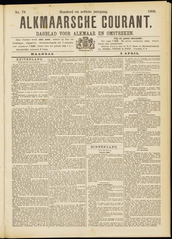 Alkmaarsche Courant 1906-04-02