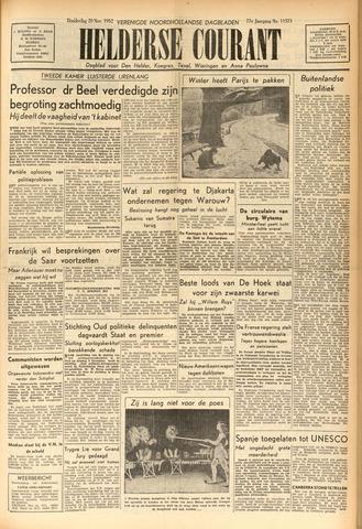 Heldersche Courant 1952-11-20