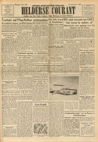 Heldersche Courant 1950-10-11