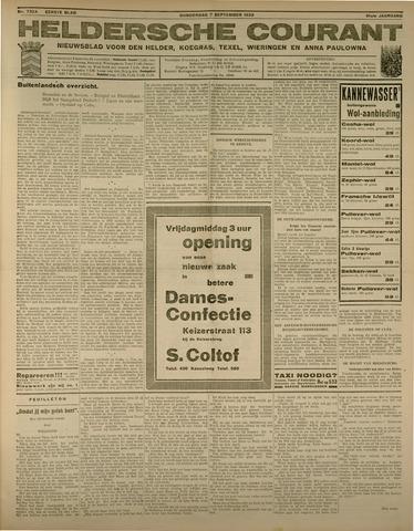 Heldersche Courant 1933-09-07
