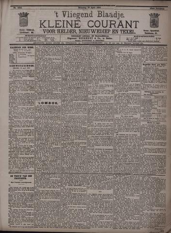 Vliegend blaadje : nieuws- en advertentiebode voor Den Helder 1895-04-13