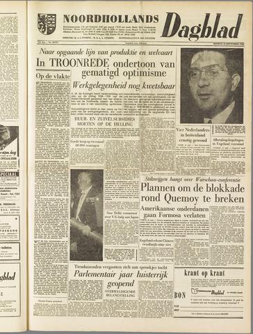 Noordhollands Dagblad : dagblad voor Alkmaar en omgeving 1958-09-16
