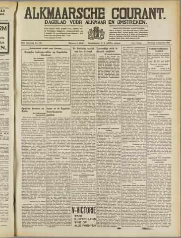Alkmaarsche Courant 1941-08-05
