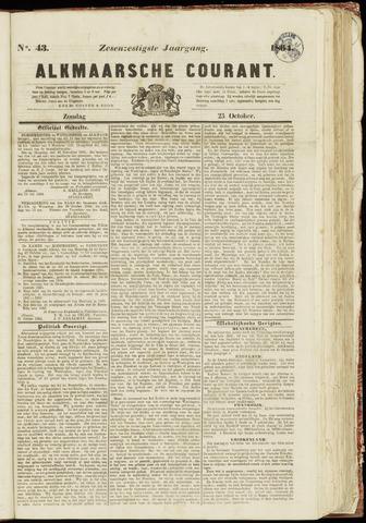Alkmaarsche Courant 1864-10-23