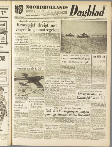 Noordhollands Dagblad : dagblad voor Alkmaar en omgeving 1960-05-10