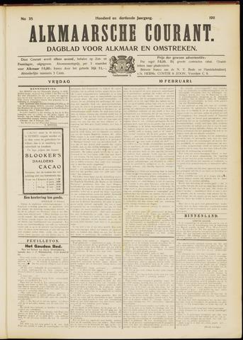 Alkmaarsche Courant 1911-02-10