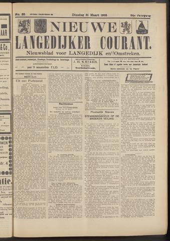 Nieuwe Langedijker Courant 1925-03-31