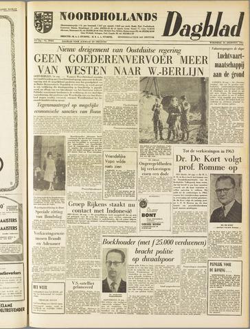 Noordhollands Dagblad : dagblad voor Alkmaar en omgeving 1961-08-16