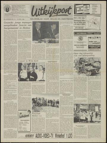 Uitkijkpost : nieuwsblad voor Heiloo e.o. 1989-04-12