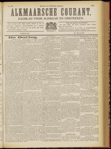 Alkmaarsche Courant 1916-03-10