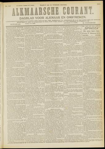 Alkmaarsche Courant 1919-10-14