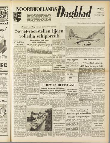 Noordhollands Dagblad : dagblad voor Alkmaar en omgeving 1953-08-28