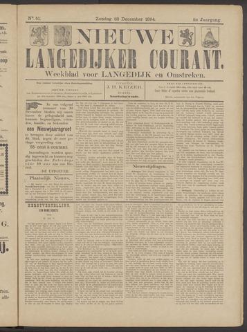 Nieuwe Langedijker Courant 1894-12-23