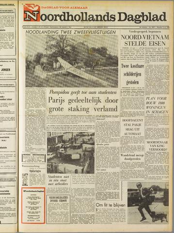 Noordhollands Dagblad : dagblad voor Alkmaar en omgeving 1968-05-13