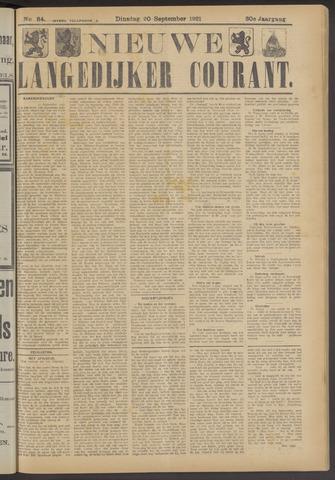 Nieuwe Langedijker Courant 1921-09-20