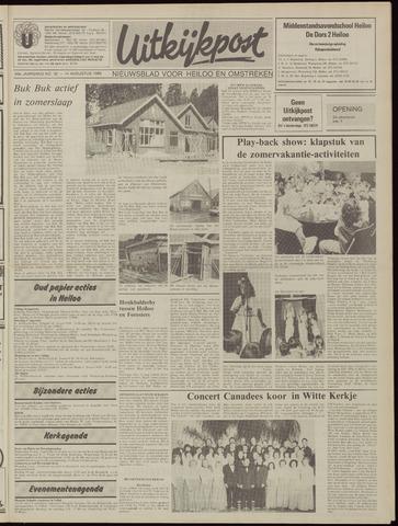 Uitkijkpost : nieuwsblad voor Heiloo e.o. 1985-08-14