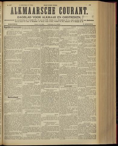 Alkmaarsche Courant 1928-08-08