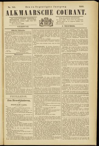 Alkmaarsche Courant 1889-12-06