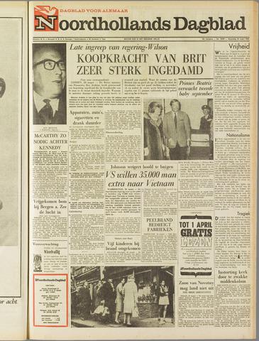 Noordhollands Dagblad : dagblad voor Alkmaar en omgeving 1968-03-20
