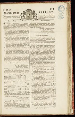 Alkmaarsche Courant 1848-02-28