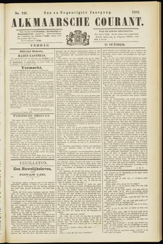 Alkmaarsche Courant 1889-10-11