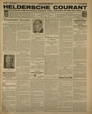 Heldersche Courant 1936-09-29