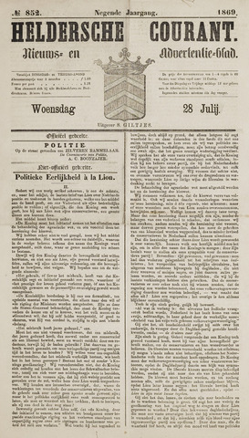 Heldersche Courant 1869-07-28