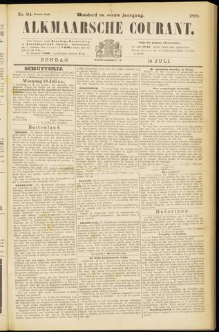 Alkmaarsche Courant 1899-07-16