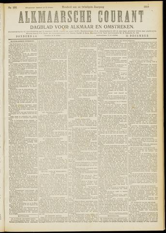 Alkmaarsche Courant 1919-12-11