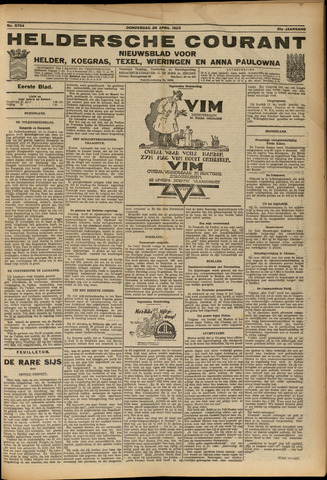 Heldersche Courant 1923-04-26