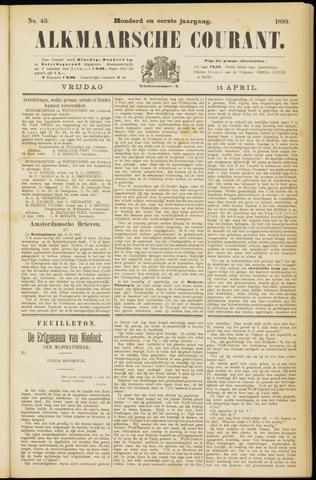 Alkmaarsche Courant 1899-04-14