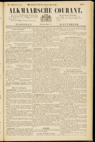 Alkmaarsche Courant 1898-11-30