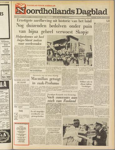 Noordhollands Dagblad : dagblad voor Alkmaar en omgeving 1963-07-27