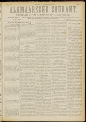Alkmaarsche Courant 1916-08-01