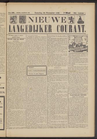 Nieuwe Langedijker Courant 1923-11-24