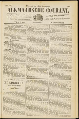 Alkmaarsche Courant 1903-09-11