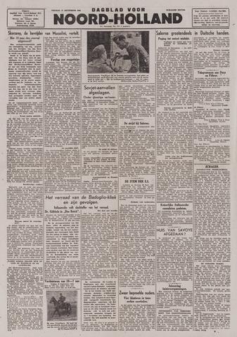 Dagblad Noord-Holland, Schager editie 1943-09-17